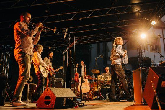 Wenzel und Band im Konzert, live, Copyright Sandra Buschow,sanstories.com