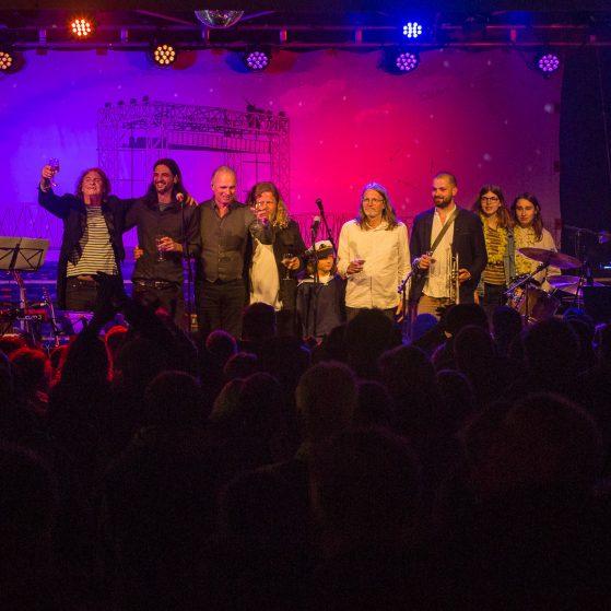 Wenzel und Band, und Gäste, Kamp 2018, Applaus, Copyright Sandra Buschow, sanstories.com