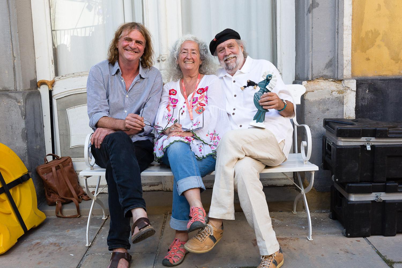 Nora Guthrie, Wenzel und Michael Kleff, RUTH Verleihung_Rudolstadt Festival©S. Buschow-sanstories.com