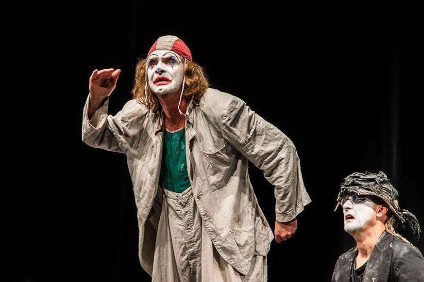 Wenzel und Mensching auf der Bühne, Copyright S.Buschow, sanstories.com